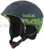 Bollé Synergy Skihelm soft dark blue & green kask na narty i snowboard M