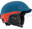 Cébé Pride kask na NARTY snowboard ROWER matt petrol orange Multifunktion Lock Hole System