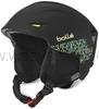 Bollé Sharp soft black mosaic KASK narty snowboard