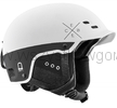 Cébé Pride kask na NARTY snowboard ROWER matt white black Multifunktion Lock Hole System