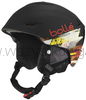 Bollé Sharp soft black & red KASK narty snowboard