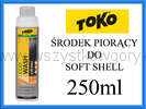 Toko Eco Soft Shell Wash 250ml środek piorący proszek do odzieży soft shell polarowej i stretch