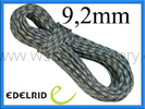 Edelrid 9,2mm Pro Line Kite 30m night/oasis lina