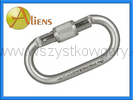 Aliens Total Oval stalowy karabinek Screw lub TriLock