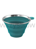 Collaps Coffee Filter Holder deep blue Składany Filtr do kawy  140 g 8 x ø 13 cm;