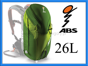 ABS Powder Zip-on 26 L plecak lawinowy model 2015
