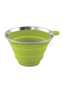 Collaps Coffee Filter Holder lime green Składany Filtr do kawy  140 g 8 x ø 13 cm